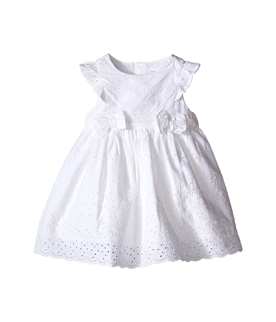 Pumpkin Patch Kids Broderie Anglaise Dress Infant Clean White Girls Dress