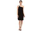 rsvp Asti One Shoulder Dress (Black)