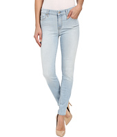 7 For All Mankind - The Ankle Skinny w/ Contrast Squiggle in Daylight Blue