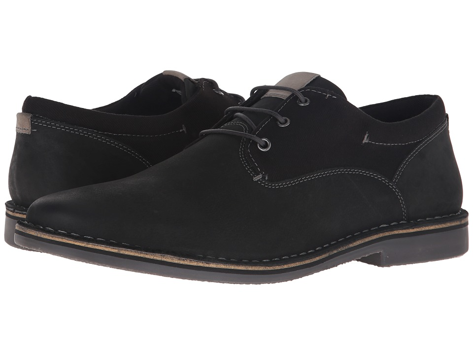 Steve Madden Harpoon 3 Black/Grey Mens Lace up casual Shoes