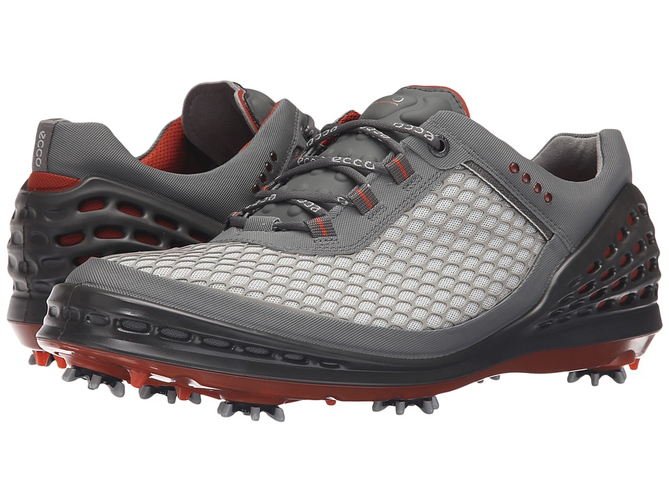 ECCO Golf Evo Cage (Concrete-Wild Dove/Coral Blush) Men