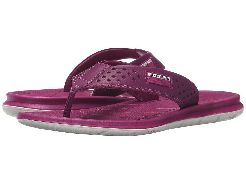 ECCO Sport Intrinsic Thong Sandal Fuchsia Womens Sandals