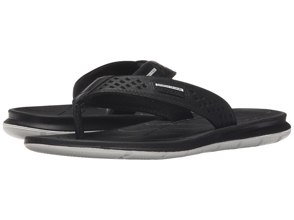 ECCO Sport Intrinsic Thong Sandal Black Womens Sandals
