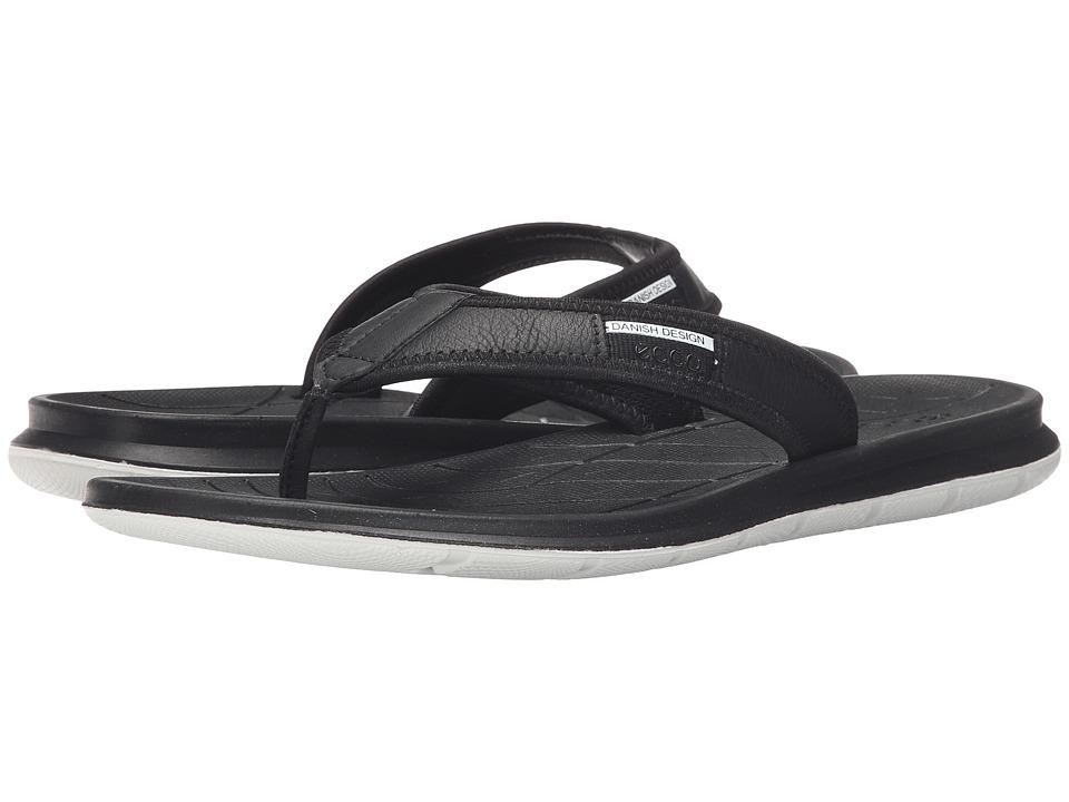 ECCO Sport Intrinsic Thong Sandal Black Mens Sandals