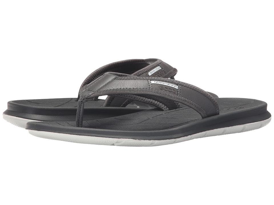 ECCO Sport Intrinsic Thong Sandal Dark Shadow Mens Sandals