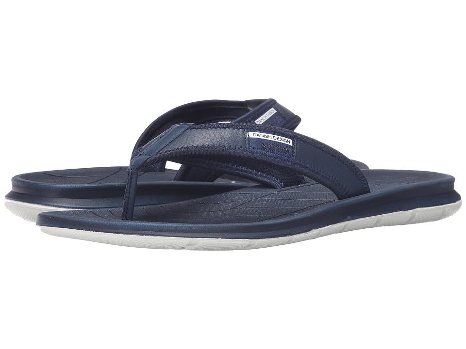 ECCO Sport Intrinsic Thong Sandal True Navy Mens Sandals