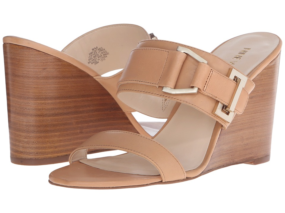 Nine West Funtimes Natural Leather Womens Shoes
