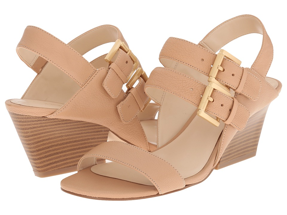 Nine West Gadele Natural Leather Womens Shoes