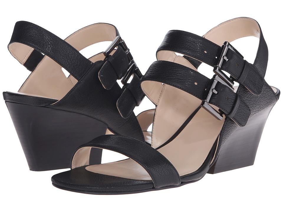 Nine West Gadele Black Leather Womens Shoes
