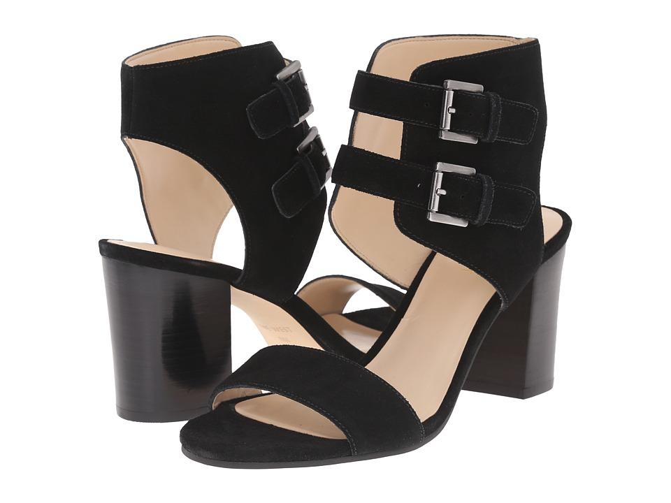 Nine West Galiceno Black Suede High Heels