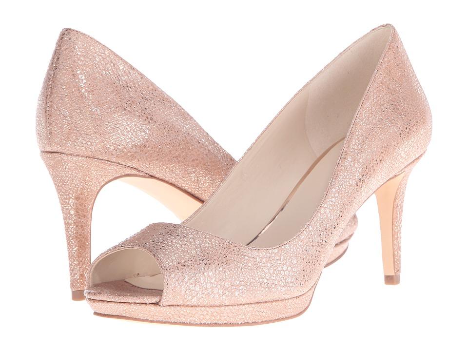 Nine West Gelabelle Natural Metallic Womens Shoes