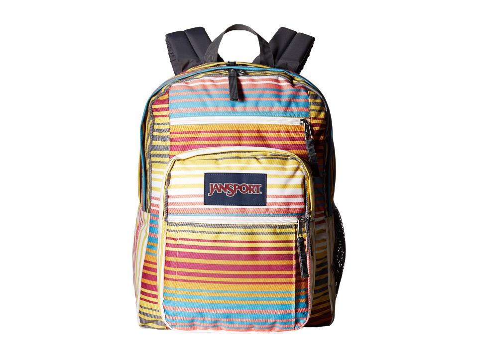 JanSport Big Student Sunset Stripe Backpack Bags