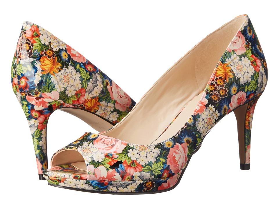 Nine West Gelabelle3 Dark Pink Multi Synthetic Womens Shoes