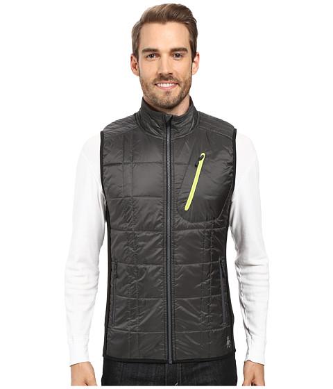 Smartwool Corbet 120 Vest - Graphite/Black