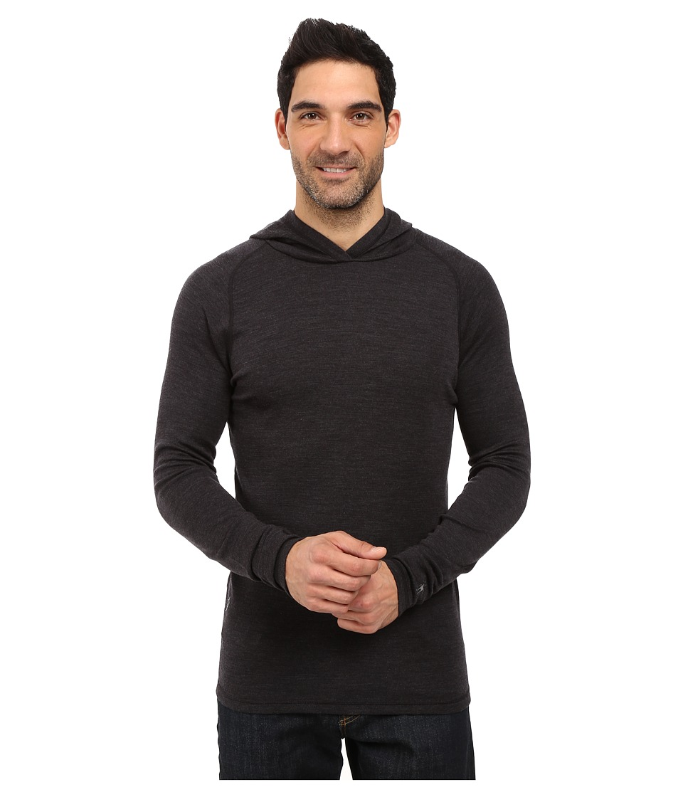 Smartwool - NTS Mid 250 Hoodie (Charcoal Heather) Men