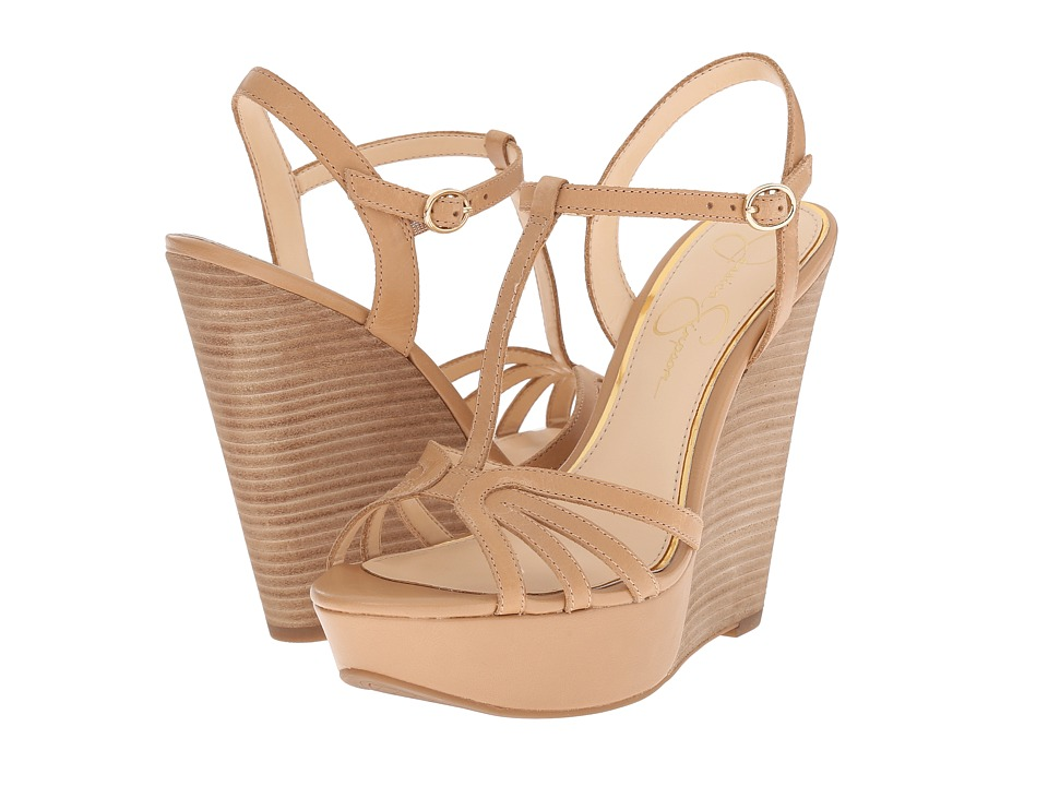 Jessica Simpson Bevin Buff Mari Buff Womens Wedge Shoes