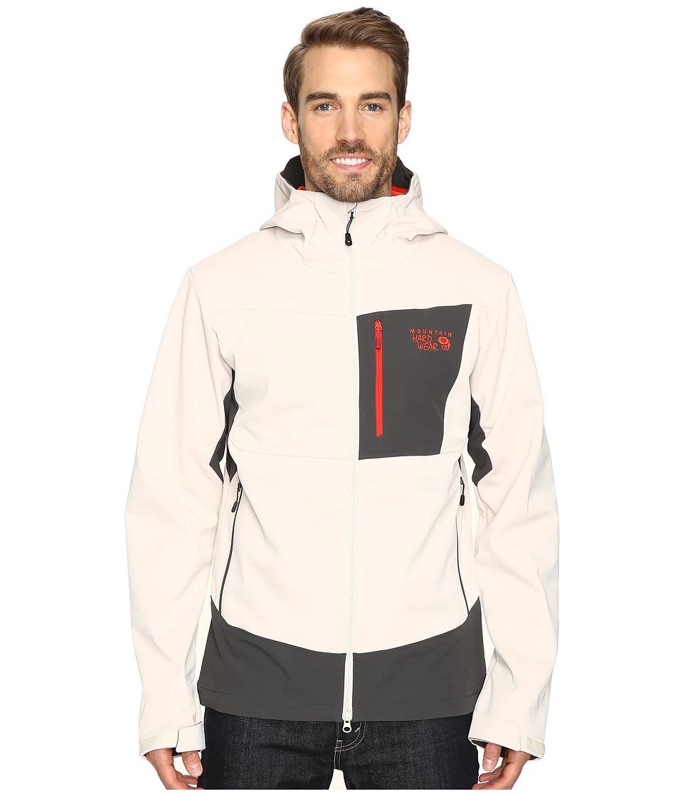 Mountain Hardwear Dragon Hooded Jacket (Stone) Men