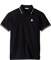 Dolce & Gabbana Kids - Crown Logo Polo (Big Kids)