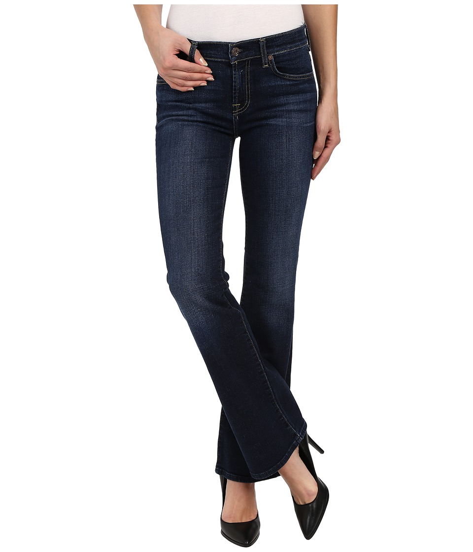 7 FOR ALL MANKIND Bootcut Short Inseam in Nouveau New Yor...