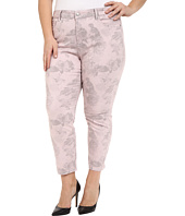 NYDJ Plus Size - Plus Size Ira Ankle in Pink Floral