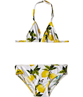 Dolce & Gabbana Kids - Limoni Two-Piece Swimsuit w/ Travel Pouch (Toddler/Little Kids)