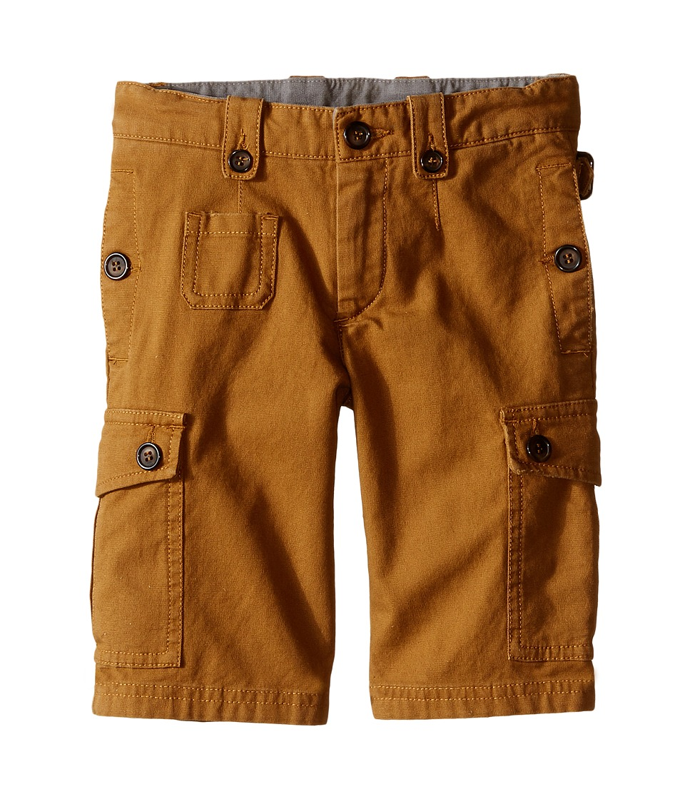 Dolce amp Gabbana Kids Cargo Shorts Toddler/Little Kids Rust Brown Boys Shorts