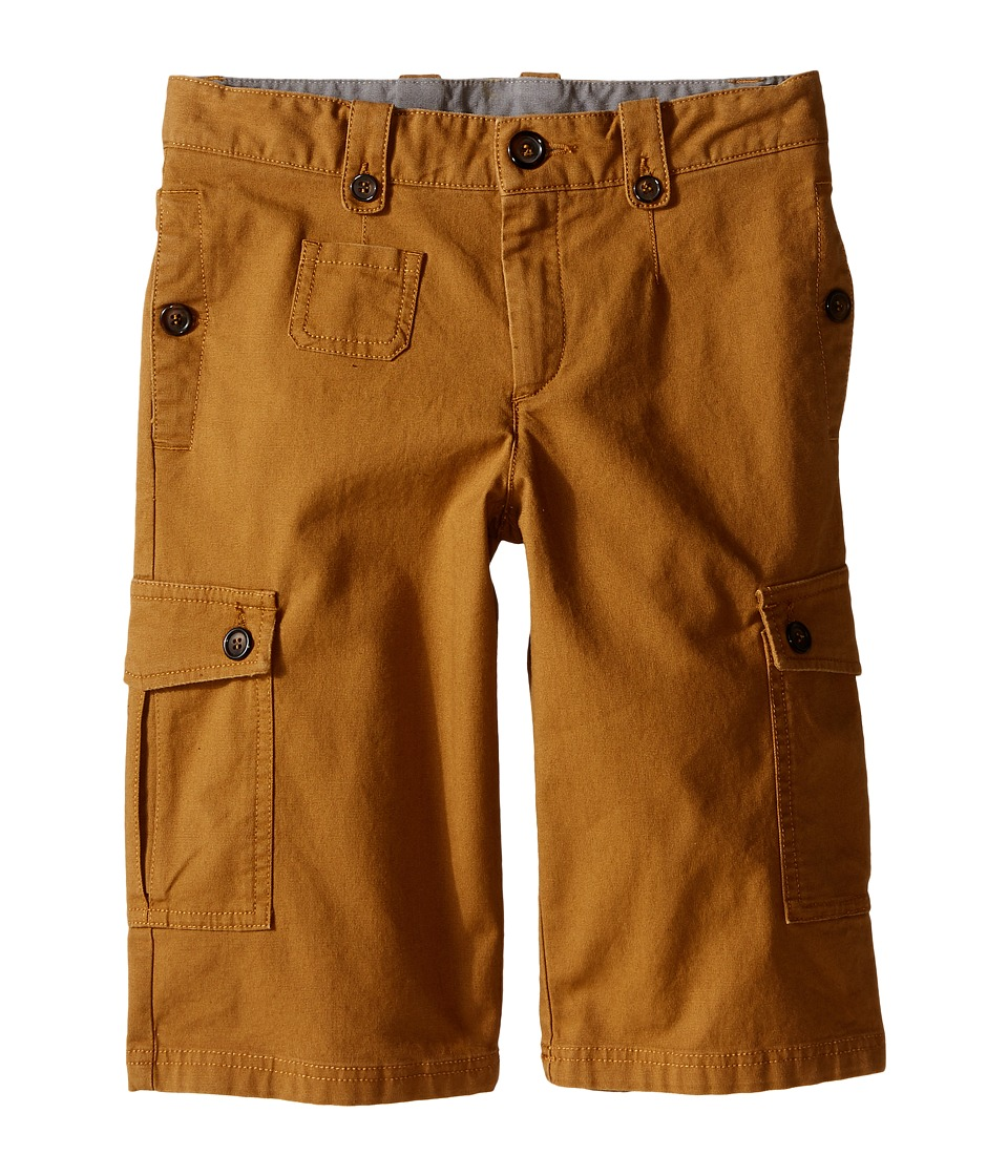 Dolce amp Gabbana Kids Cargo Shorts Big Kids Rust Brown Boys Shorts