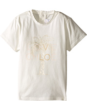 Chloe Kids - Cotton Tee Shirt with Gold Graphic (Infant)