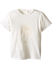 Chloe Kids - Cotton Tee Shirt with Gold Graphic (Toddler)