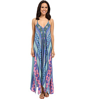 Hale Bob - Hide and Go Chic Maxi Dress with Handkerchief Hem Detail