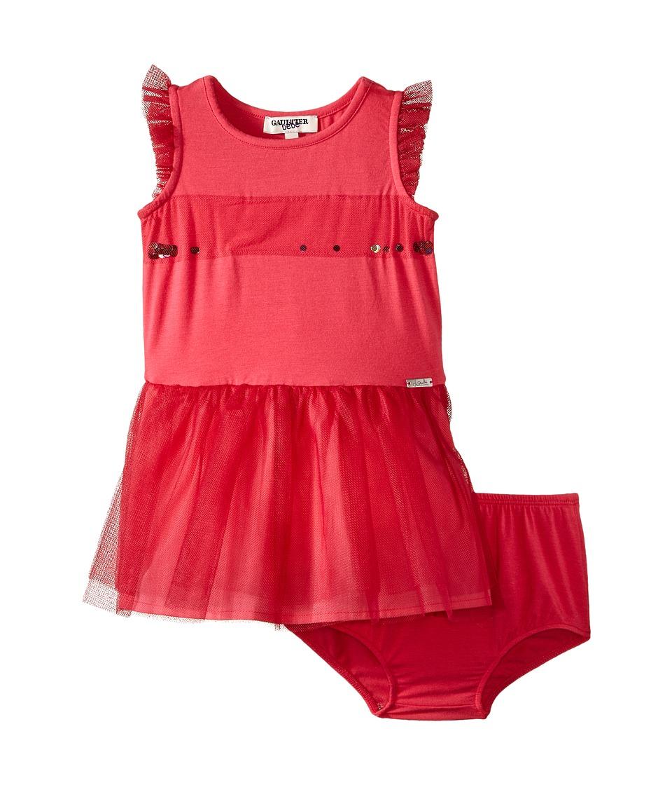 Junior Gaultier Scarlett Dress Infant Pink Girls Dress