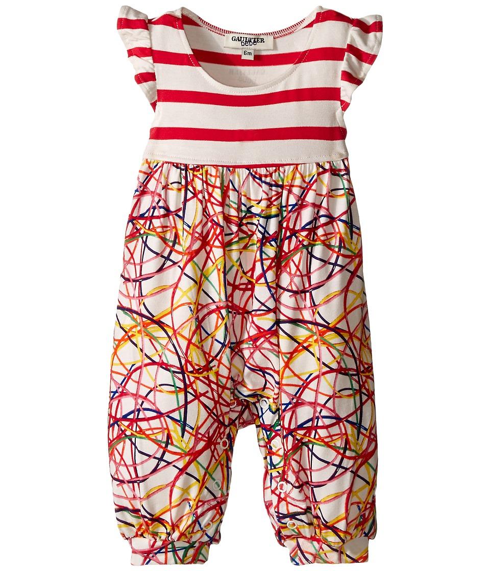 Junior Gaultier Scoubidou Romper Infant Multiple Colors Girls Jumpsuit Rompers One Piece