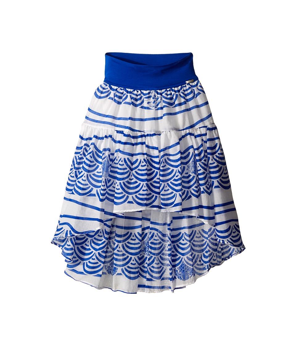 Junior Gaultier Shelley High Low Skirt Big Kid Royal Blue Girls Skirt