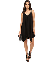 Jack by BB Dakota - Domani Twill Handkerchief Hem Dress with Twill Straps