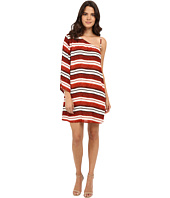 Jack by BB Dakota - Bryanne Beach Blanket Stripe Printed Crinkle Rayon Dress