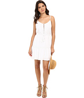 Jack by BB Dakota - Finella Rayon Challi Lace Trim Dress