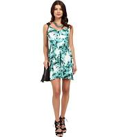 Jack by BB Dakota - Brittania Tropical Bliss Printed Rayon Crepe Dress