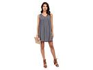 Mikaela Printed Rayon Babydoll Dress