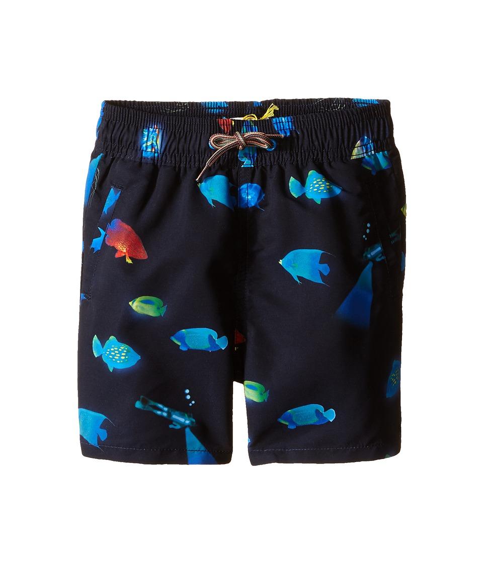 Paul Smith Junior Bathing Trunks Toddler/Little Kids Marine Blue Boys Swimwear