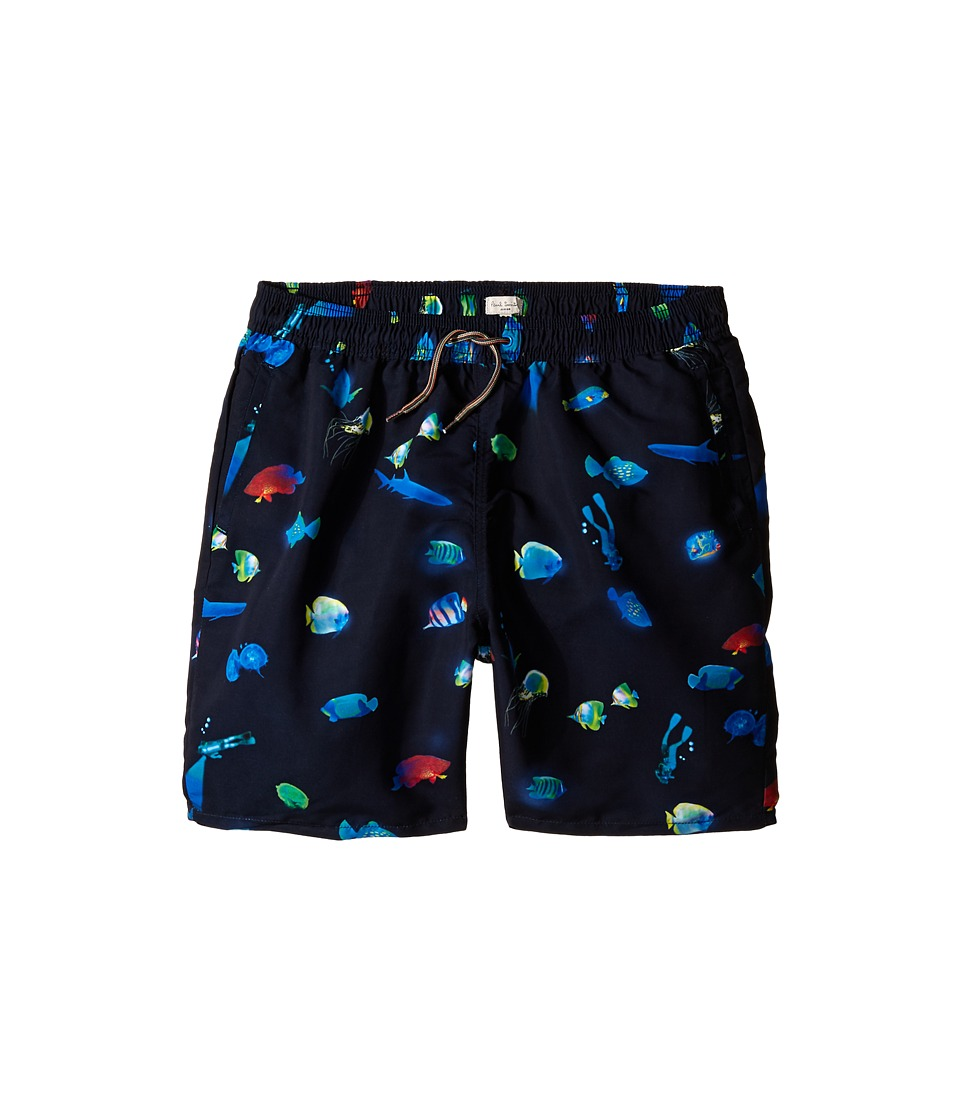 Paul Smith Junior Bathing Trunks Big Kids Marine Blue Boys Swimwear
