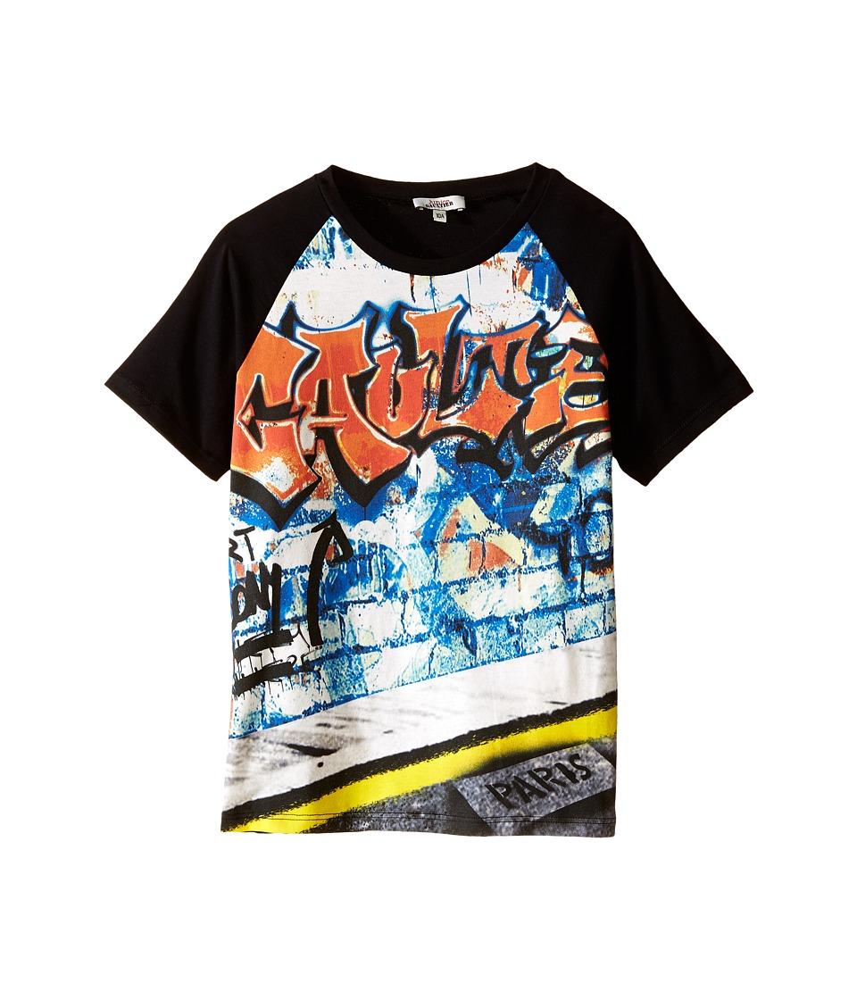 Junior Gaultier Severin T Shirt Big Kid Black Boys T Shirt