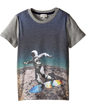 Paul Smith Junior - All Over Astronaut Print Tee Shirt (Toddler/Little Kids)