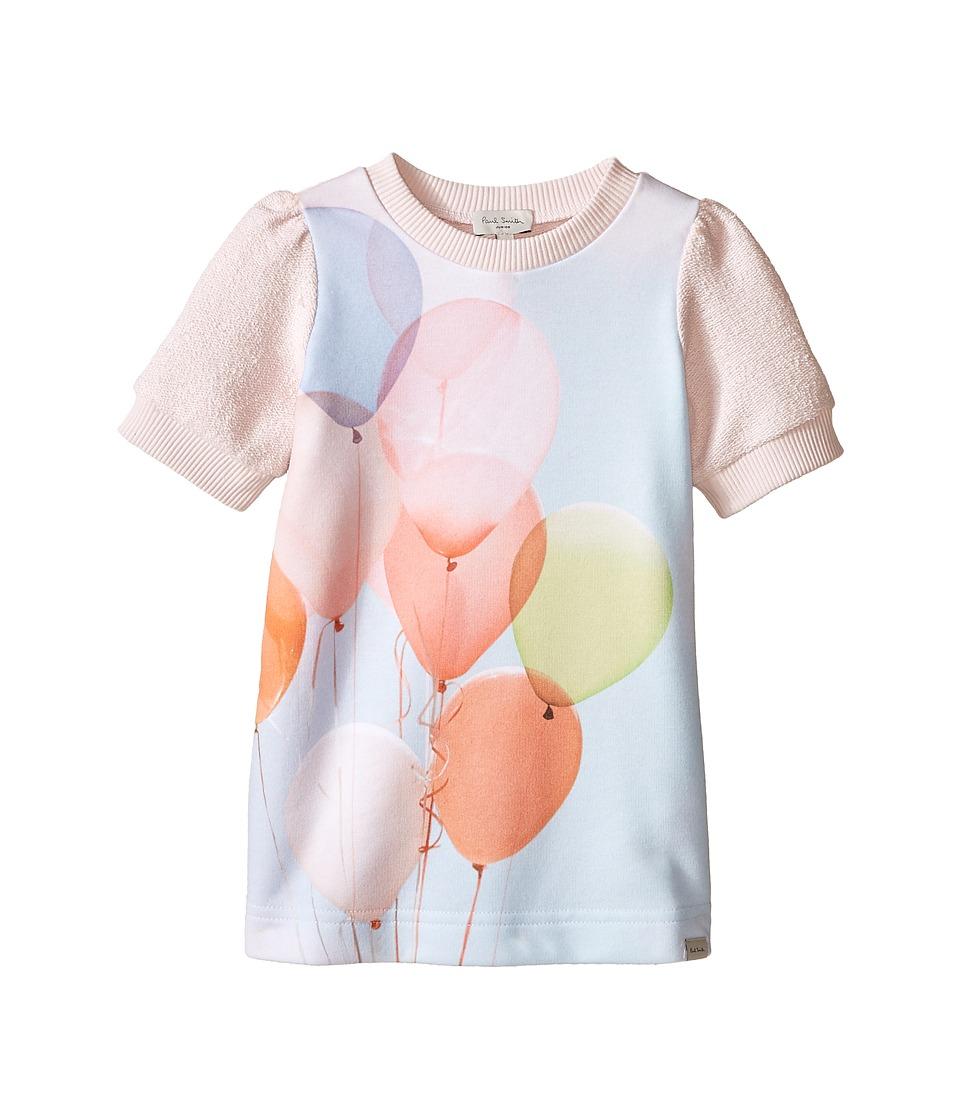 Paul Smith Junior Balloons Sweater Dress Toddler/Little Kids Light Pink Girls Dress