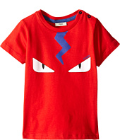 Fendi Kids - Short Sleeve Tee with Eyes (Infant)