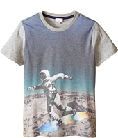 Paul Smith Junior - All Over Astronaut Print Tee Shirt (Big Kids)