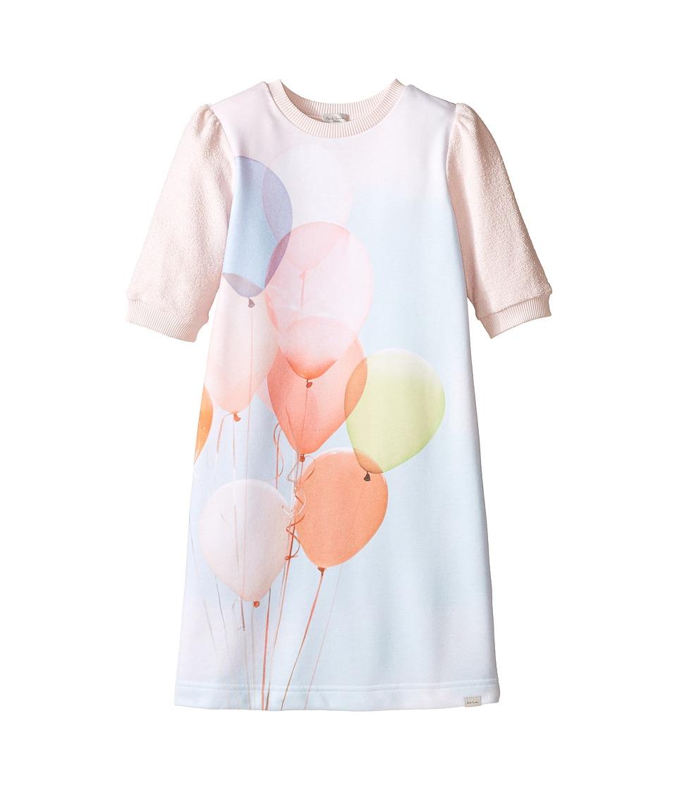 Paul Smith Junior Balloons Sweater Dress Big Kids Light Pink Girls Dress
