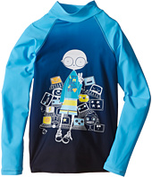 Little Marc Jacobs - Mr Marc Graphic Rashguard (Toddler/Little Kids/Big Kids)