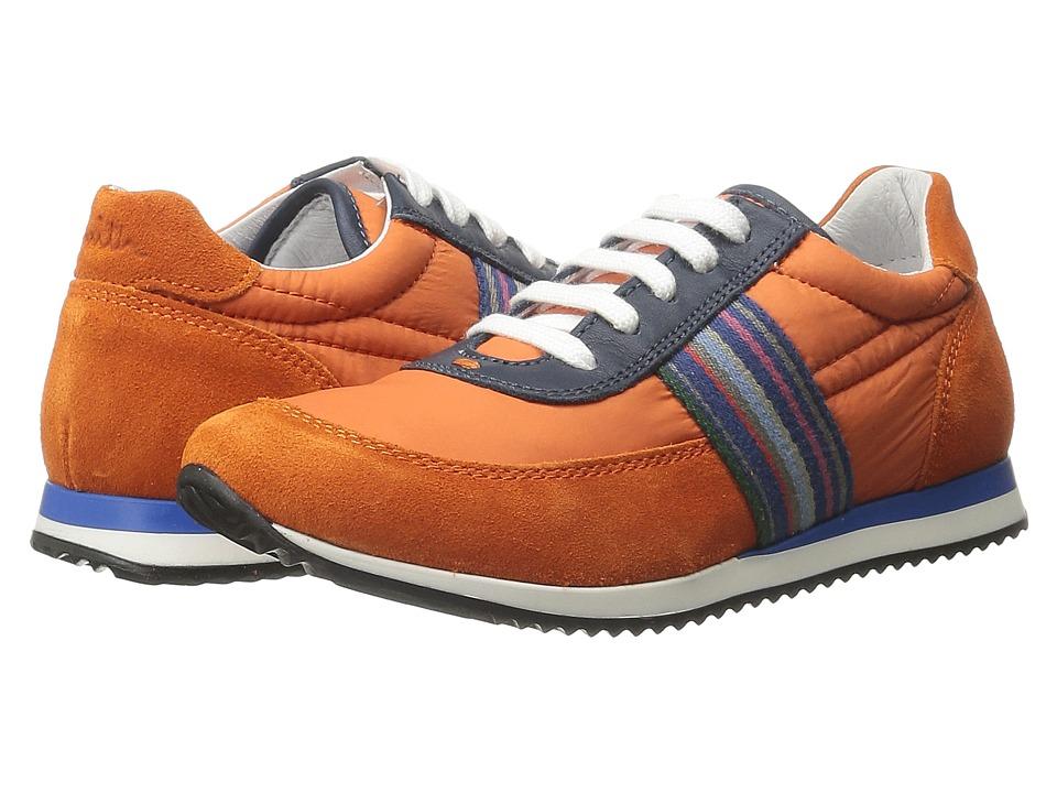 Paul Smith Junior Blue/Orange Sneakers Little Kid Dark Orange Boys Shoes
