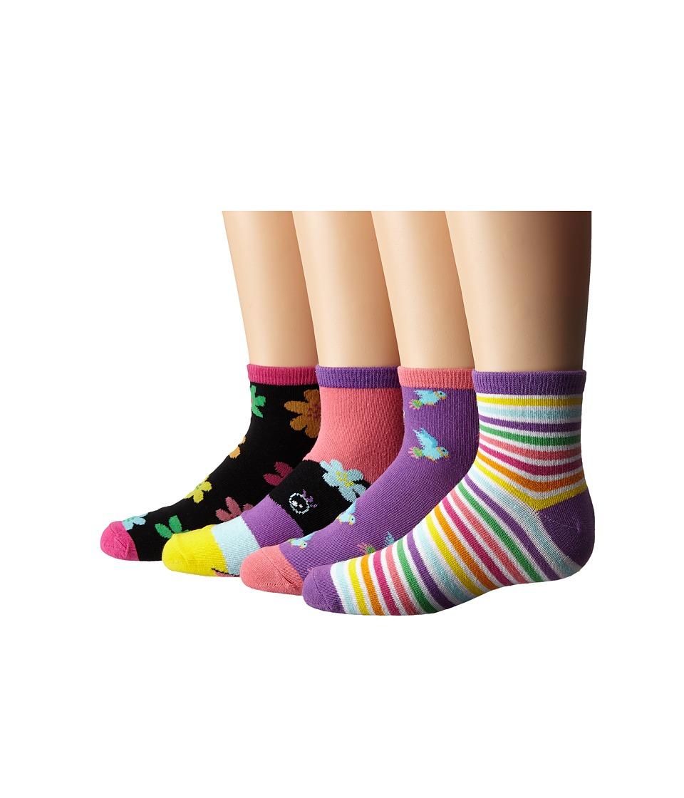 Stride Rite 8 Pack Tropical Tonya Quarter Infant/Toddler/Little Kid/Big Kid Assorted Bright Girls Shoes