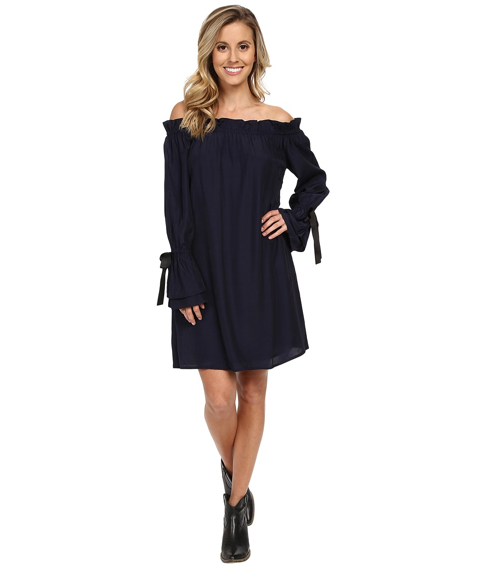 Union of Angels Peyton Dress Navy Womens Dress